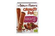 Chokolade & hasselnød ruller Ø glutenfri