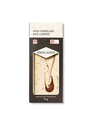 Chokolade hvid lakrids Ø