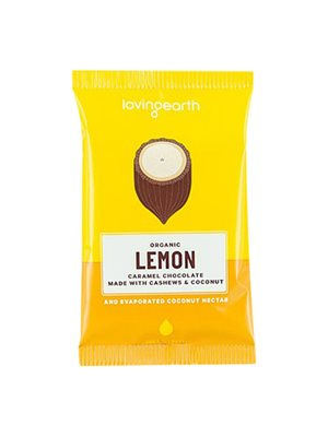 Chokolade Lemon Ø m cashew & kokos Loving Earth