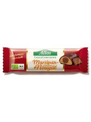 Chokolade marcipan & nougat  bar Ø Allos