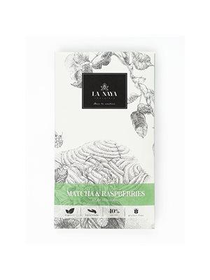 Chokolade - Matcha & Hindbær Ø La Naya