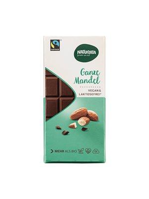 Chokolade med mandel Ø laktosefri Naturata
