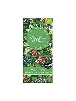 Chokolade Mint 67% Ø