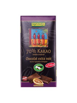 Chokolade mørk 70% Ø