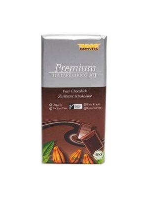 Chokolade mørk hasselnød  71% Ø