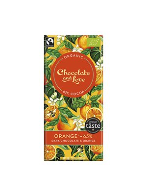 Chokolade Orange 65% Ø