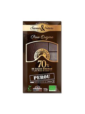 Chokolade Peruviansk 70% Ø Mørk
