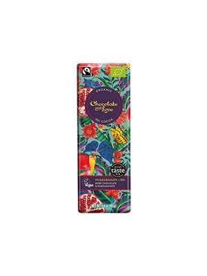 Chokolade Pomegranate 70% Ø Chocolate and Love