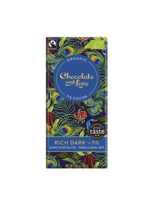 Chokolade Rich dark 71% Ø