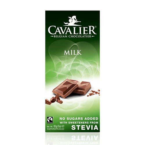 Cavalier Belgian Chocolate Cavalier Mælkechokolade Med Stevia