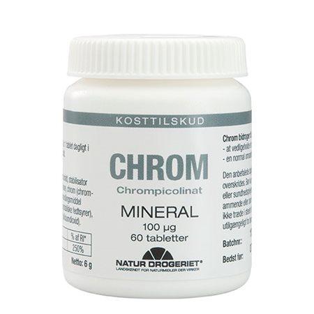 Chrom tabletter 100 ug