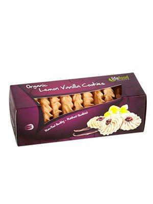 Citron Vanilje Cookies RAW Ø