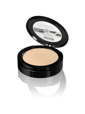 Compact foundation 01 Ivory  2 in 1 Lavera Trend