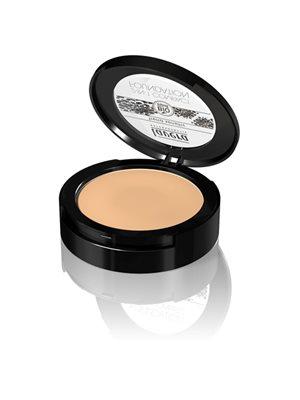 Compact foundation 03 Honey  2 in 1 Lavera Trend