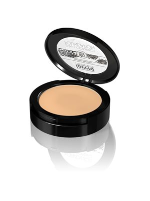 Compact foundation 03 Honey  2 in 1 Lavera Trend