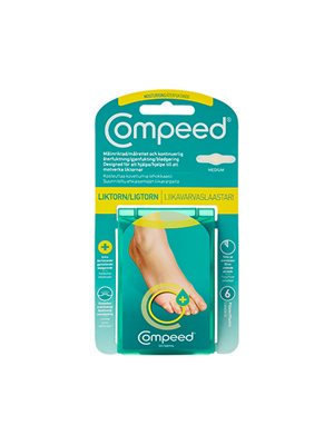 Compeed ligtorn Moist 6 stk.