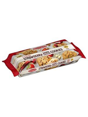 Cookies Strawberry white  chocolate