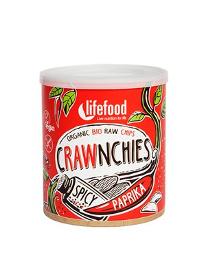 Crawnchies RAW chips m. Spicy Paprika Ø