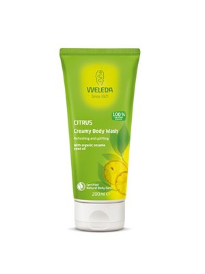 Creamy Body Wash Citrus Weleda