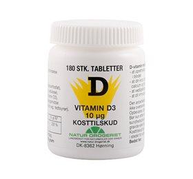 D-vitamin 10 ug økonomikøb