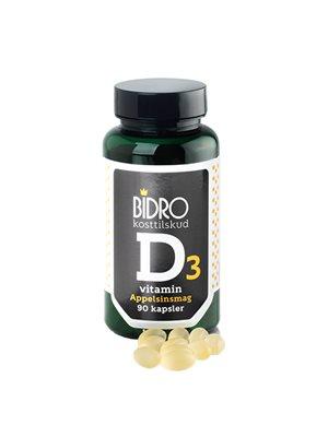 D-vitamin 38 ug m.appelsinsmag Bidro