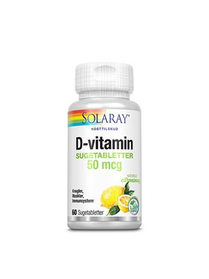 D-vitamin 50 mcg