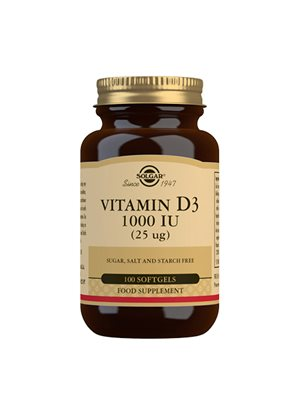 D3-vitamin 25 mcg softgel  (1000 i.u.)