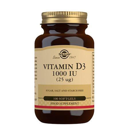 D3-vitamin 25 mcg softgel  (1000 i.u.)