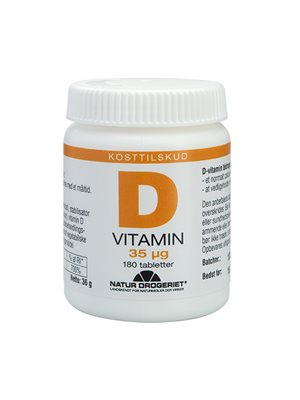 D3-vitamin 35 ug