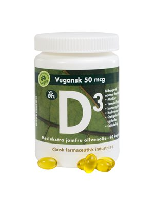 D3 vitamin 50 mcg vegan