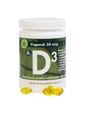 D3 vitamin 50 mcg vegansk
