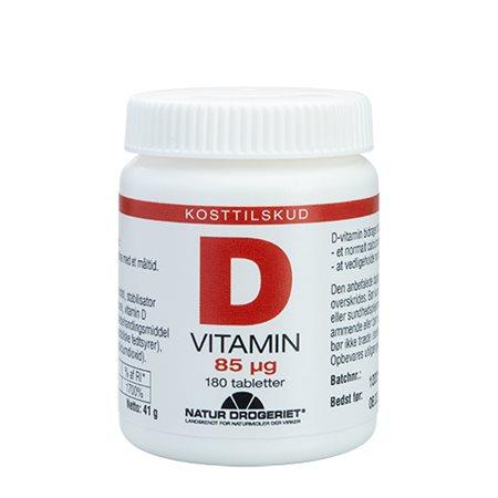 D3-vitamin 85 mcg, Super D