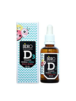 D3 vitamin dråber baby