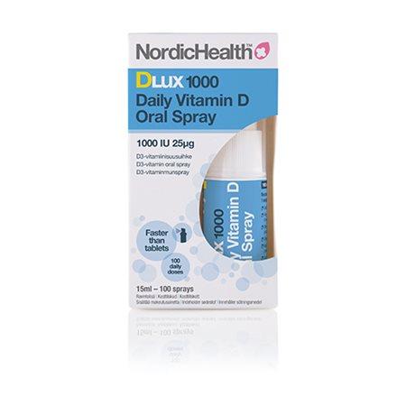 D3 vitamin spray 25 mcg NordicHealth