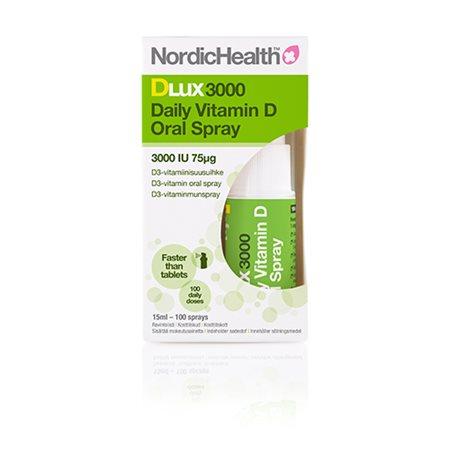 D3 vitamin spray 75 mcg NordicHealth