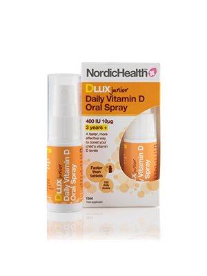 D3 vitamin spray Børn 10 mcg NordicHealth