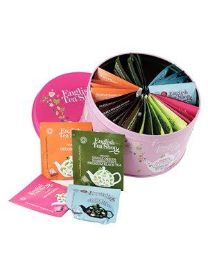Dåse te Ø 30 breve blandet  Premium Collection