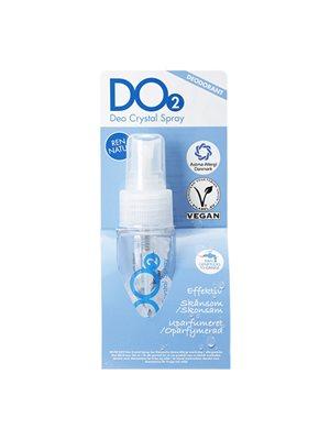 Deo Crystal spray DO2  Kan fyldes op ca. 10 gange
