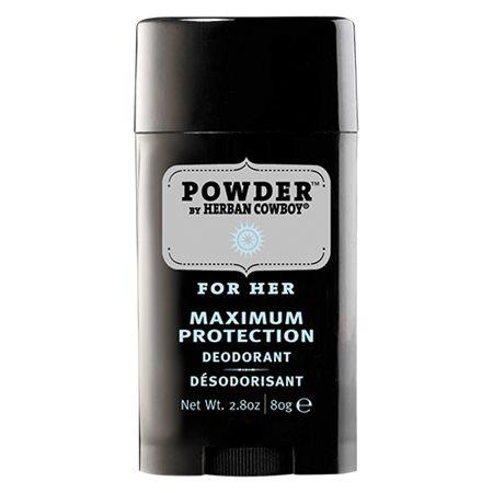 Deo powder til kvinder Natural Grooming