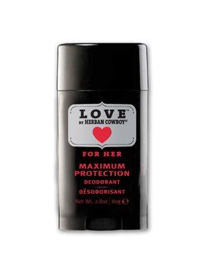 Deo Stick Love til kvinder  Natural Grooming