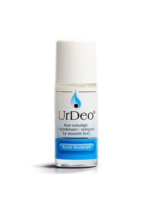 Deodorant m. basiske mineraler UrDeo