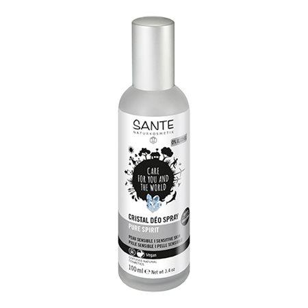 Deodorant spray crystal  pure spirit Sante