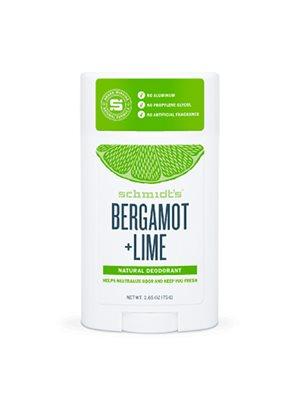 Deodorant stick Bergamot+Lime Schmidt's