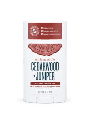 Deodorant stick Cedarwood+ Juniper Schmidt's