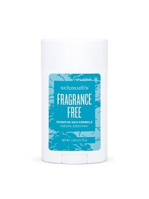 Deodorant stick Fragrance-Free Sensitiv hud Schmidt's