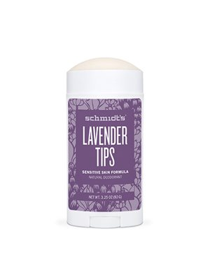 Deodorant stick Lavender Tips Sensitive hus Schmidt´s