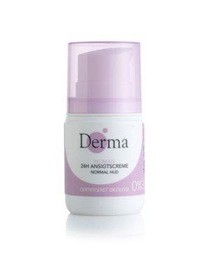Derma Eco woman 24h normal ansigtscreme normal hud