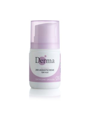 Derma Eco woman 24h tør ansigtscreme tør hud