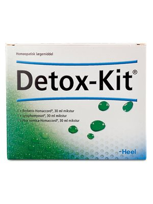 Detox-Kit 3x30 ml  udrensningskur