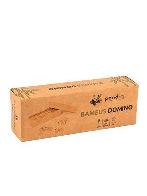 Domino spil i bambus